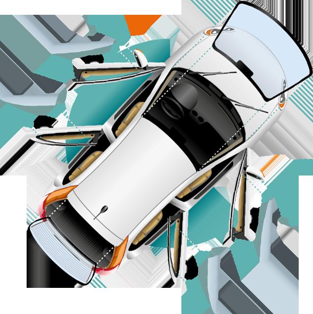 Как правильно наклеить наклейки на лобовое стекло автомобиля