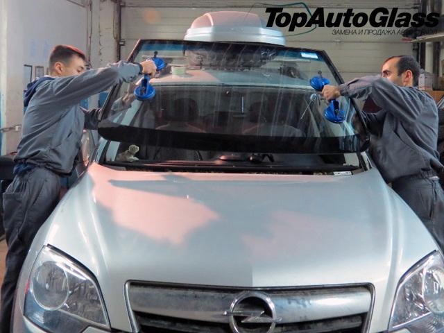 Замена лобового стекла Opel Antara